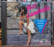 THAT'S LAMBADA  COMPIL' SEXY  COVER COMPACT DISC DISQUES MCPS 1989