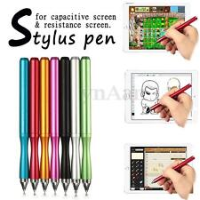 Precision Fine Round Thin Tip Capacitive Touch Screen Stylus Pen For iPhone Tab