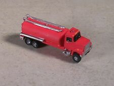 N Scale 2000 Red Ford Fire Water Tanker