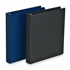 "Sparco 64120 3-Ring Binder, 1"" Capacity, 9-1/2""x6"", Black"