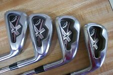 2006 Callaway X Tour Forged Irons, #3-PW.  Steel 5.5 flex