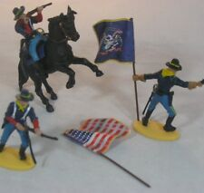 CIVIL WAR Union Infantry BRITAINS DEETAIL by DSG Flag Bearer CAVALRY North ARMY