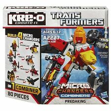 PREDAKING Transformers KRE-O Set MISB new MICRO CHANGERS COMBINERS kreo kreon