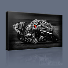 JORGE LORENZO AWESOME ICONIC CANVAS ART MOTOGP WORLD CHAMPION by Art Williams