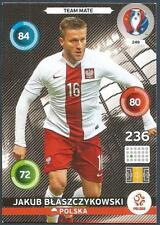 PANINI EURO 2016 ADRENALYN XL CARD- #249-POLSKA-POLAND-JAKUB BLASZCZYKOWSKI