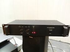 MATRIX M400 MOS-FET PROFESSIONAL POWER AMP