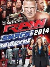 WWE: Best of Raw and Smackdown 2014, New DVDs