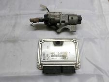 2009 MASERATI GRAN TURISMO V8 ENGINE ECU KIT / IGNITION & KEY 0261208592  191135