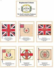 South Lancashire Regiment 1st Series of Trade Cards Sent Post Free