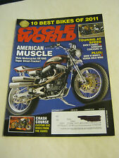 September 2011 Cycle World Magazine, American Muscle  VF  (BD-5)