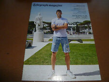 Daily Telegraph Magazine 20/6/15 Novak Djokovic James Taylor 1 day only