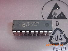 MCP2515-I/P Microchip CAN Controller, DIP-18