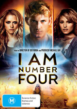 I Am Number Four * NEW DVD * Timothy Olyphant Dianna Agron Teresa Palmer