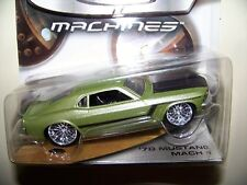 Hot Wheels G Machines 70 Ford Mustang 2005 New package 1:50 Real Riders Green