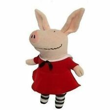 "Olivia The Pig In Red Dress 11"" Plush Doll Toy"