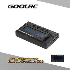 GoolRC LCD Programming Card Box for RC Car ESC Electronic Speed Controller R35R