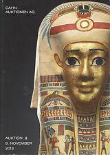 Catalogue de vente Archeologie Egyptienne ancienne Egypte Grec Romaine Antique