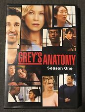 Grey's Anatomy Season 1 One Two 2 Disc DVD Set Touchtone Telivision 2006