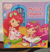 Strawberry Shortcake My First Sleepover Paperback Ages 3+ USA Seller FREE SHIP