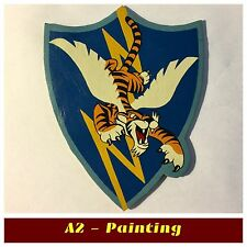 WW2 Hand Painted 23rd Fighter Grp Flying Tigers Leatger Patch For A2 G1 Jacket