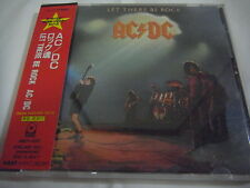 AC/DC-Let There Be Rock JAPAN Press w/OBI Scorpions Iron Maiden Motorhead Kiss