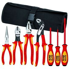Knipex 9K989827US Hybrid Tool 7 Pc Pliers and Screwdriver Tool Set