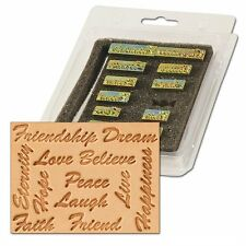 Craftool Inspirational Word Stamp 13 Piece Set Tandy Leather 8164-00