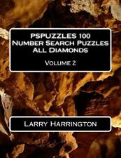 PSPUZZLES 100 Number Search Puzzles All Diamonds: PSPUZZLES 100 Number Search...