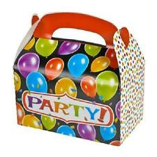 12 PARTY TREAT BOXES Birthday Loot Goody Gift Prize Bags #SR51 FREE SHIPPING