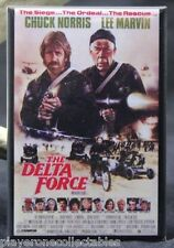 "The Delta Force Movie Poster 2"" X 3"" Fridge Magnet. Chuck Norris Lee Marvin"
