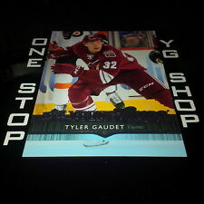 2014 15 UD YOUNG GUNS 527 TYLER GAUDET RC UPDATE +FREE COMBINED S&H