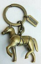 COACH Vintage Brass key holder