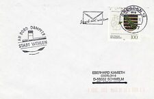 GERMAN RIVER CRUISER STEAMBOAT DS STADT WEHLEN A SHIPS CACHED COVER