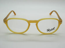 New Authentic PERSOL 3053-V 9010 Matte Miele Yellow RX 50mm Eyeglasses