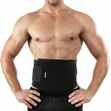 Waist Trimmer Exercise Belt Weight Loss Fat Slimming Burn Tummy Abs Workout Gym