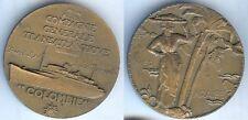 Médaille de table - COLOMBIE paquebot CGT Cie générale transatlantique M. RENARD
