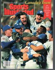 Sports Illustrated 1992 World Series Champs Toronto Blue Jays  No Label Exc.