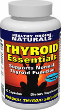Healthy Choice Naturals Thyroid Essentials Low Thyroid Supplement-60 Capsules