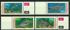 NAMIBIE NAMIBIA POISSONS MAIGRES CORACINUS FISHES BLACKTAILS FISCHE ** 1994