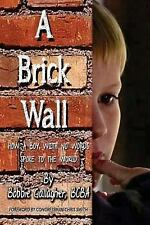 2DAY SHIPPING | A Brick Wall: How a Boy with No Words Spoke to the Wo, PAPERBACK