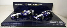 Minichamps 1/43 SCALA 402 020506 Williams BMW fw24 1+2 finitura MALESIA GP 2002