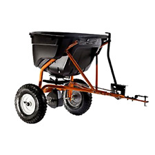 New Seeder Spreader 130-Pound Tow Behind Broadcast Spreader Home Garden Supplies