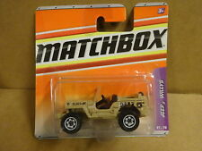 MATCHBOX 61/75 - JEEP WILLYS