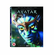 Avatar 3D w/ Lenticular Slipcover (Blu-ray, 2 Discs, Region Free) *NEW/SEALED*