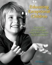 Educating Exceptional Children by Samuel Kirk Mary Coleman Gallagher 13th ed