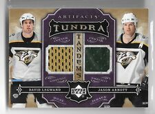 07 08 UD Artifacts Tundra Tandems David Legwand and Jason Arnott Dual Jersey