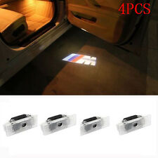 4X LED Door Courtesy Shadow Lamp Laser Logo Projector Lights For BMW E39 E53 UK