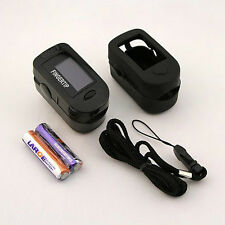 Concord Black Ox Pulse Oximeter with Carrying Case