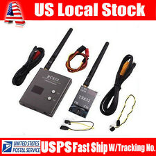 USA! Boscam 32Ch 5.8G 600mw Wireless AV Transmitter TS83 +Receiver RC832 For FPV