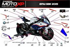 Kit Adesivi  Bmw s 1000 RR Grafica SBK 2015  (carene moto)